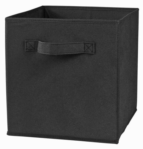 ClosetMaid Cubeicals Fabric Storage Bin - Black Perspective: right