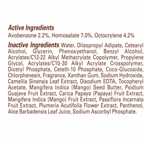 Hawaiian Tropic AntiOxidant+ SPF 30 Sunscreen Lotion Perspective: right