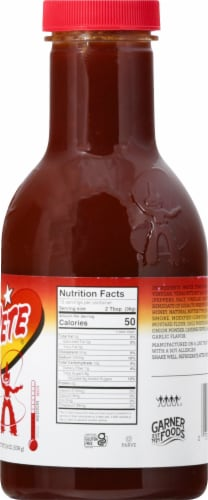 Texas Pete Traditional BBQ Sauce Perspective: right