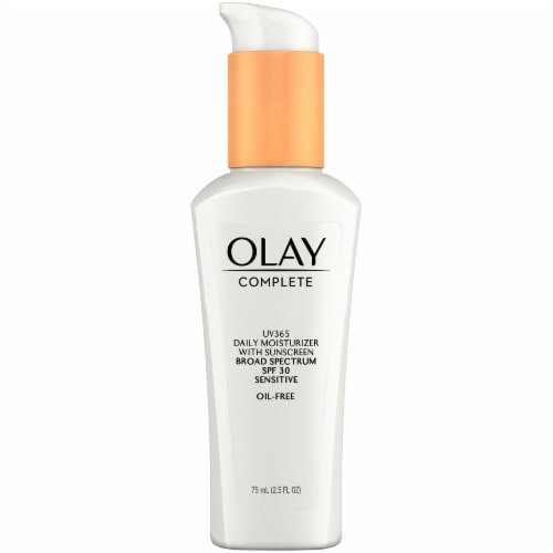 Olay Complete UV360 Sensitive Daily Moisturizer with SPF 30 Perspective: right