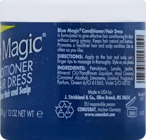 Blue Magic Conditioner Perspective: right