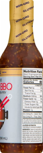 San-J Korean Gluten Free BBQ Marinade and Stir-Fry Sauce Perspective: right