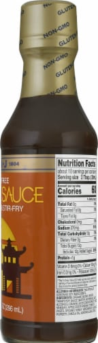 San-J Gluten Free Orange Asian Glaze & Stir-Fry Sauce Perspective: right