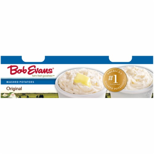 Bob Evans Farm-Fresh Goodness Twin Cup Original Mashed Potatoes Perspective: right
