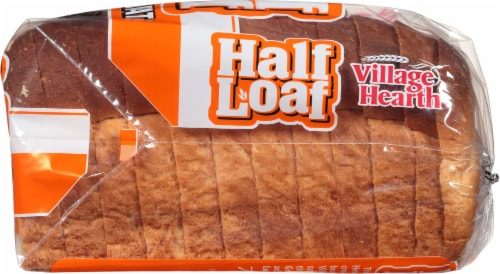 Village Hearth Honey Wheat Half Loaf Perspective: right