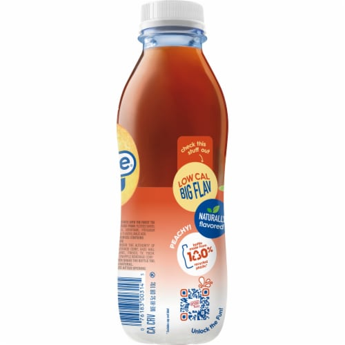 Diet Snapple® Peach Iced Tea Perspective: right