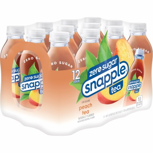 Snapple Diet Peach Tea Perspective: right