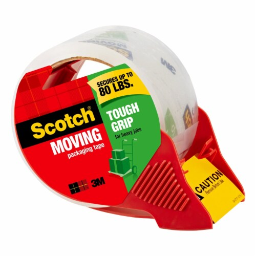 Scotch® Moving & Storage Packaging Tape with Dispenser - 2 Pack - Clear Perspective: right
