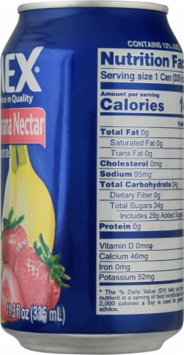 Jumex Strawberry Banana Nectar Juice Perspective: right