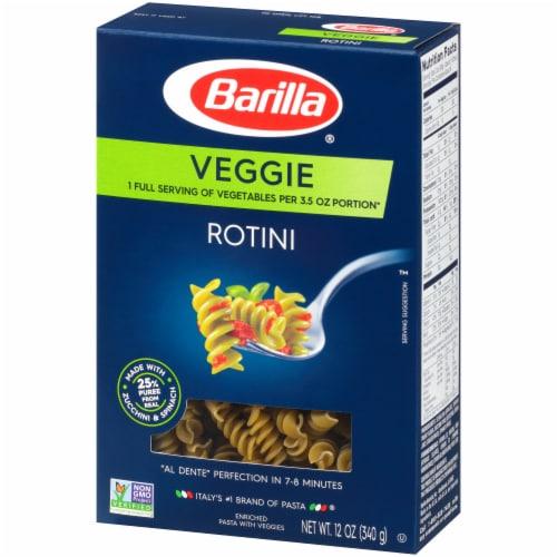 Barilla Veggie Rotini Pasta Perspective: right
