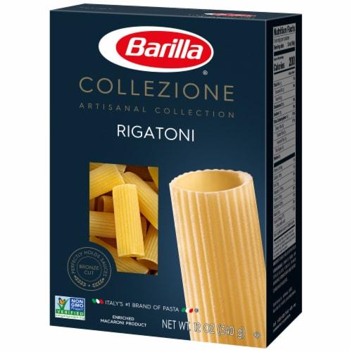 Barilla Collezione Rigatoni Pasta Perspective: right