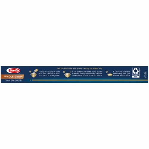 Barilla Whole Grain Thin Spaghetti Pasta Perspective: right