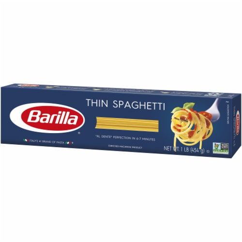 Barilla Thin Spaghetti Perspective: right