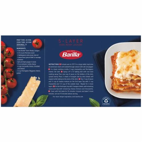Barilla Oven-Ready Lasagne Perspective: right