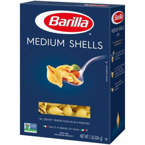 Barilla Medium Pasta Shells Perspective: right