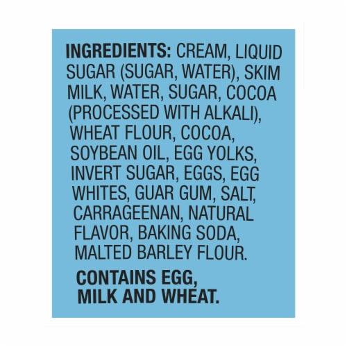Ben & Jerry's Chocolate Fudge Brownie Ice Cream Perspective: right