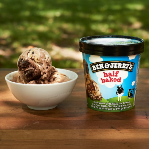 Ben & Jerry's Half Baked Ice Cream Perspective: right