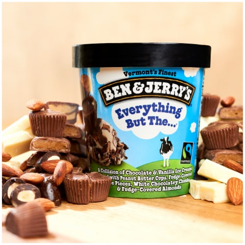 Ben & Jerry's Everything But The... Ice Cream Perspective: right