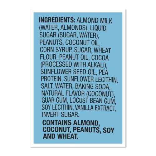 Ben & Jerry's Vegan Non-Dairy Frozen Dessert Peanut Butter & Cookies Perspective: right