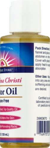 Heritage Store Castor Oil Perspective: right