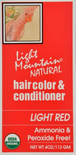 Light Mountain Strawberry Hair Color & Conditioner Perspective: right
