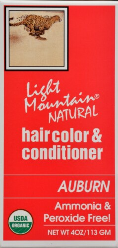 Light Mountain Auburn Hair Color & Conditioner Perspective: right