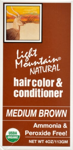 Light Mountain Medium Brown Hair Color & Conditioner Perspective: right