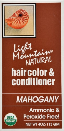 Light Mountain Mahogany Hair Color & Conditioner Perspective: right