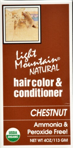 Light Mountain Chestnut Hair Color & Conditioner Perspective: right