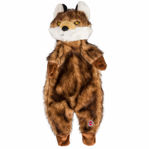Spot Furzz Fox Plush Dog Toy Perspective: right