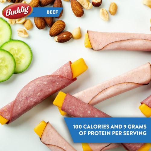 Buddig™ Thin-Sliced Smoked Beef Lunchmeat Perspective: right