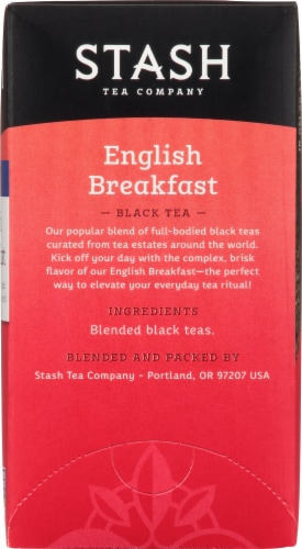 Stash English Breakfast Black Tea Perspective: right