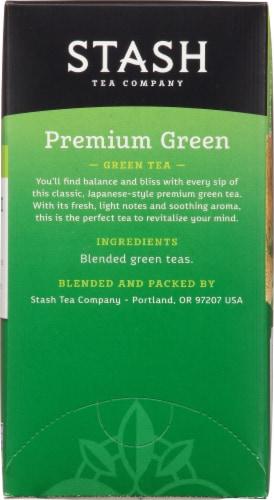 Stash Premium Green Tea Perspective: right