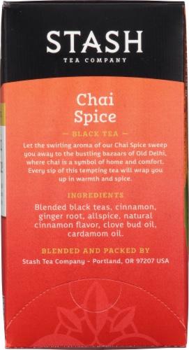 Stash Chai Spice Black Tea Perspective: right