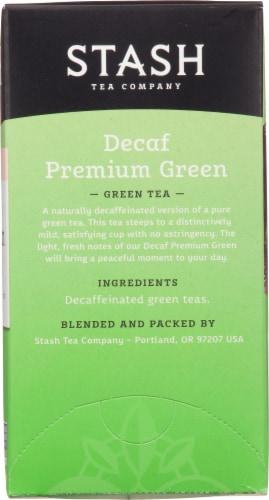 Stash Decaf Premium Green Tea Perspective: right