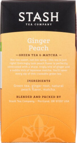 Stash Ginger Peach Matcha Green Tea Perspective: right