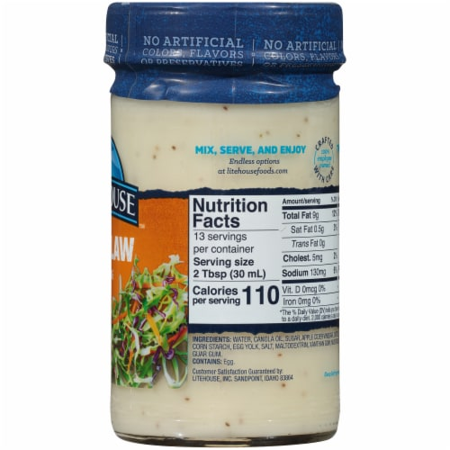 Litehouse Coleslaw Dressing Perspective: right
