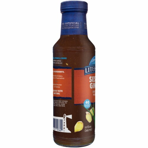 Litehouse Sesame Ginger Dressing & Marinade Perspective: right