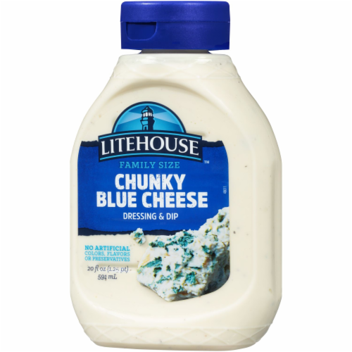 Litehouse Chunky Blue Cheese Dressing & Dip Perspective: right