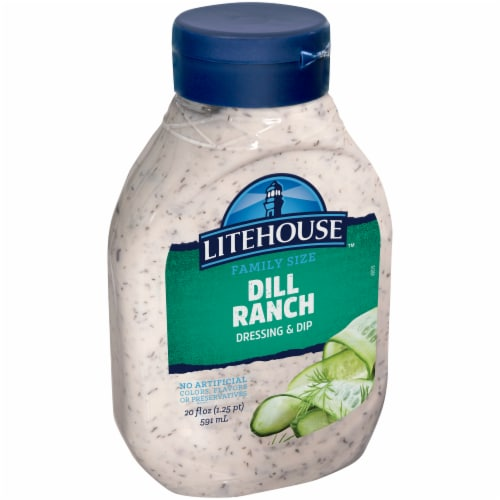 Litehouse Dill Ranch Dressing & Dip Perspective: right