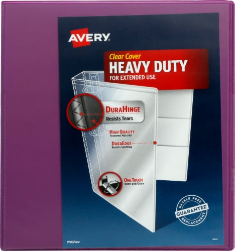 Avery Heavy Duty Clear Cover Binder - Assorted Perspective: right