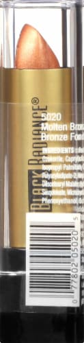 Black Radiance Perfect Tone Molten 5020 Bronze Lip Color Perspective: right