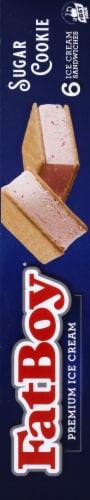 Fat Boy Sugar Cookie Ice Cream Sandwiches Perspective: right