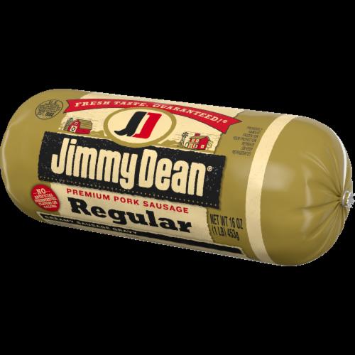 Jimmy Dean Regular Premium Pork Sausage Roll Perspective: right