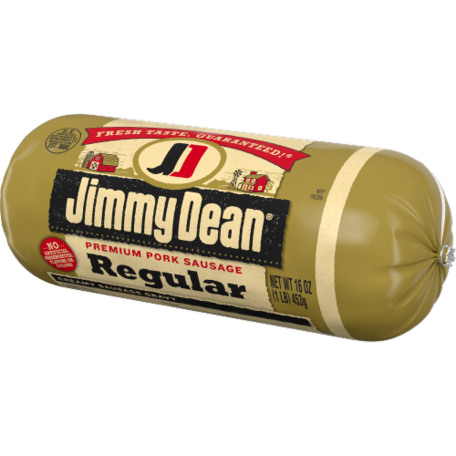 Jimmy Dean® Regular Premium Pork Sausage Roll Perspective: right