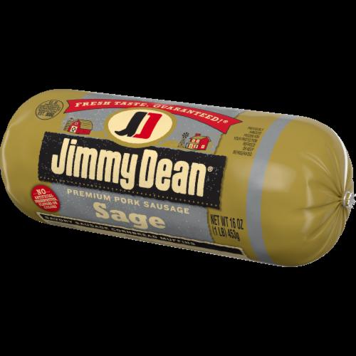 Jimmy Dean Premium Pork Sage Sausage Roll Perspective: right