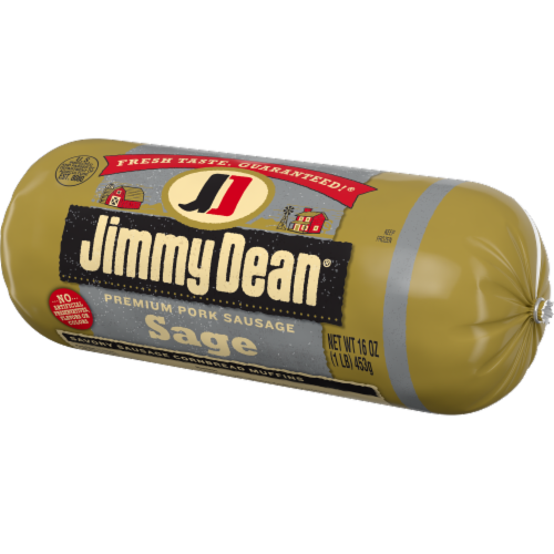 Jimmy Dean Sage Premium Pork Sausage Roll Perspective: right