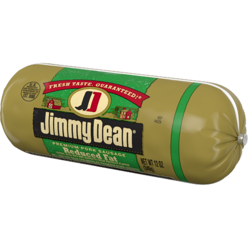 Jimmy Dean Reduced Fat Premium Pork Sausage Roll Perspective: right