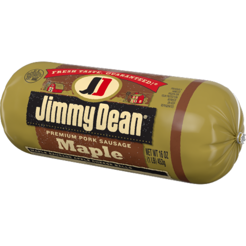 Jimmy Dean Premium Pork Maple Sausage Roll Perspective: right