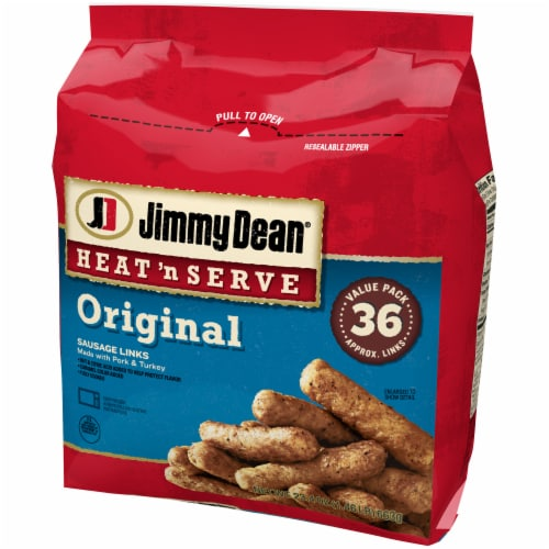 Jimmy Dean Heat 'N Serve Original Sausage Links Perspective: right
